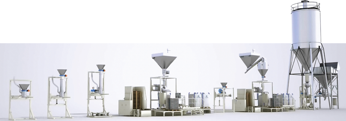 big bag filling range palamatic process