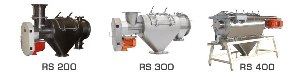 centrifugal sieve range palamatic process