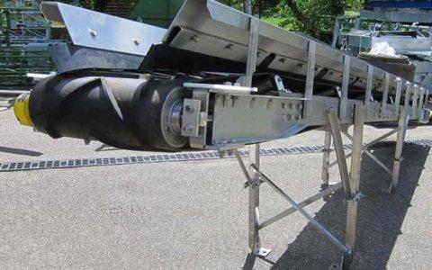 bulk materials handling belt conveyor