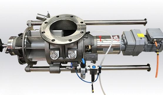Easyclean rotary airlock valve