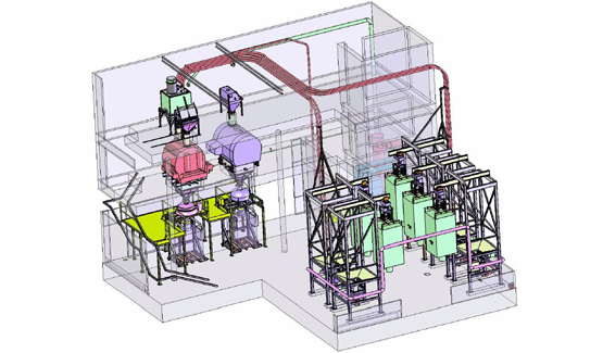feed cat dog aroma filling system 3d layout