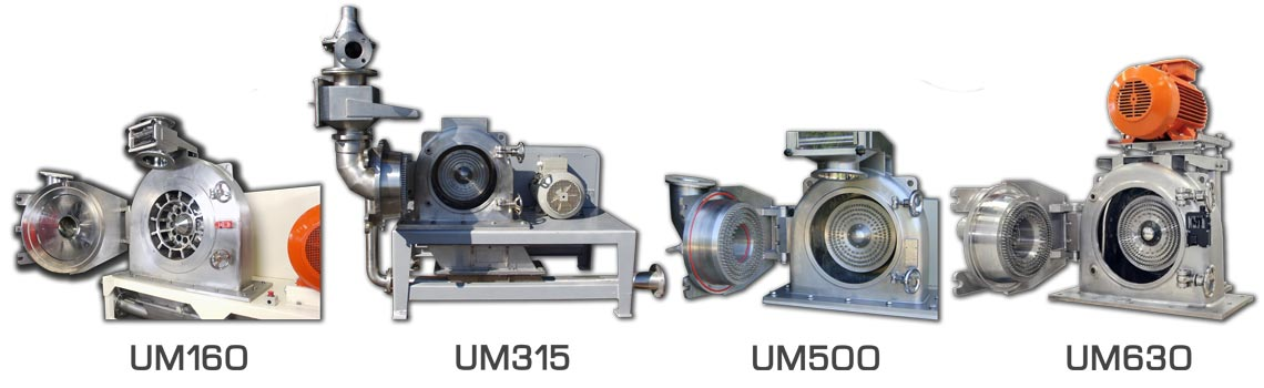 grinding mill range palamatic process