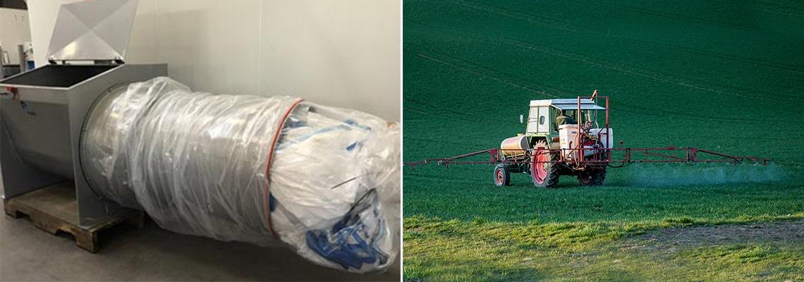 Compacteur big bags UPL étude de cas