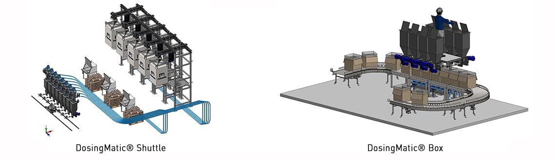 DosingMatic Shuttle / Box