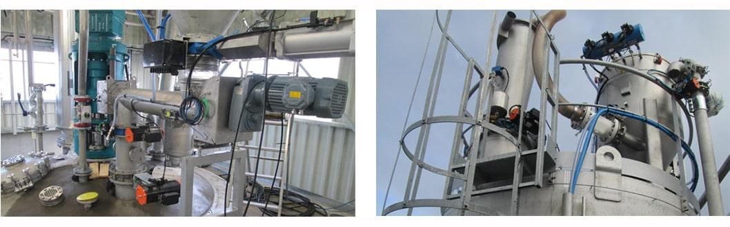 Réacteur chimie réalisation client