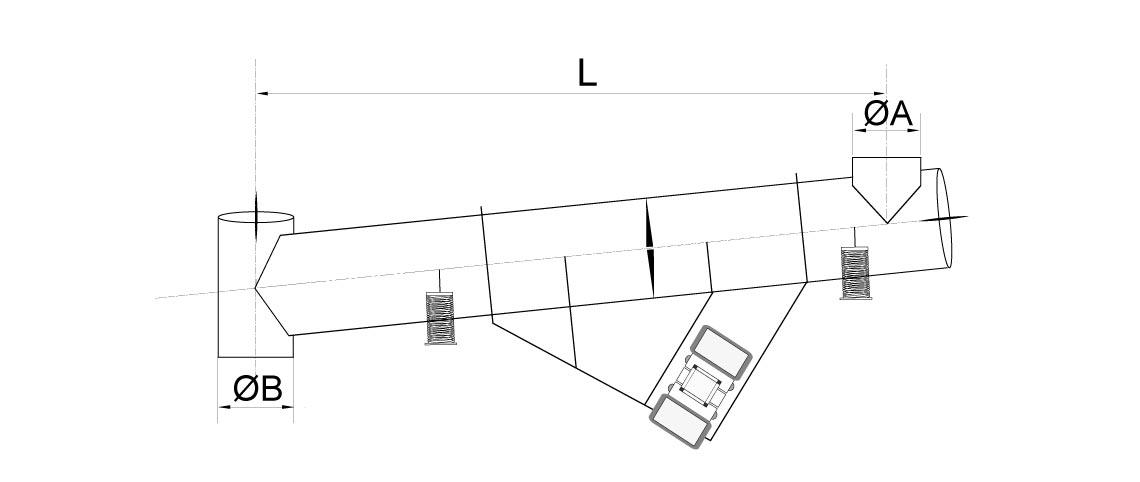 layout vibrating conveyor powder handling