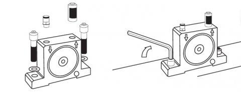 Vibrateur industriel pour le traitement des poudres - Palamatic Process