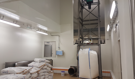 milk powder filling system palamatic process