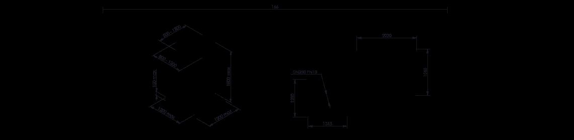 Octabin discharging system layout OctoFlow 02 - Bulk powder handling