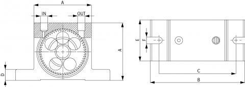 pneumatic turbine vibrator Palamatic Process