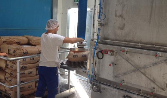 sack manipulator sugar palamatic process