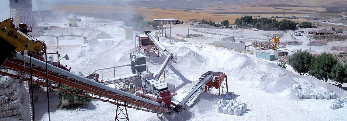 Bulk powder handling cement industry