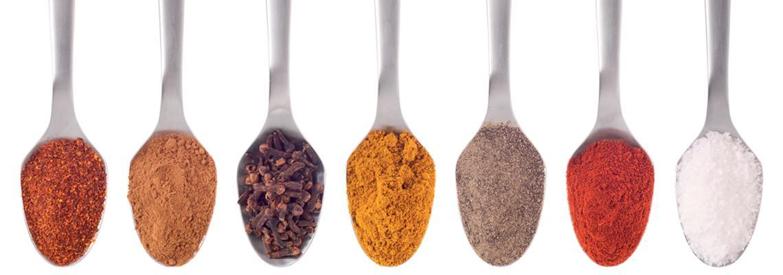 Spices and aromas indutrial processing lines