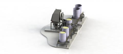 Drum discharging - Bulk handling solutions