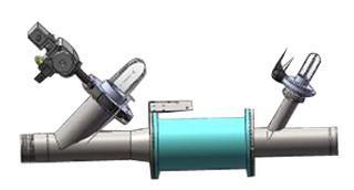 pinch valve implantation