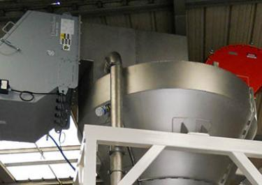 dust collection hopper