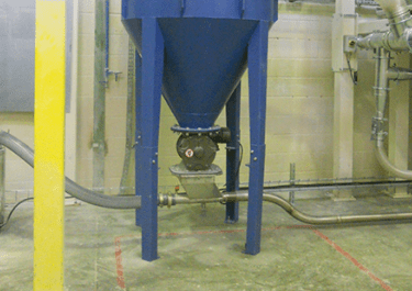 dust collection rotary valve