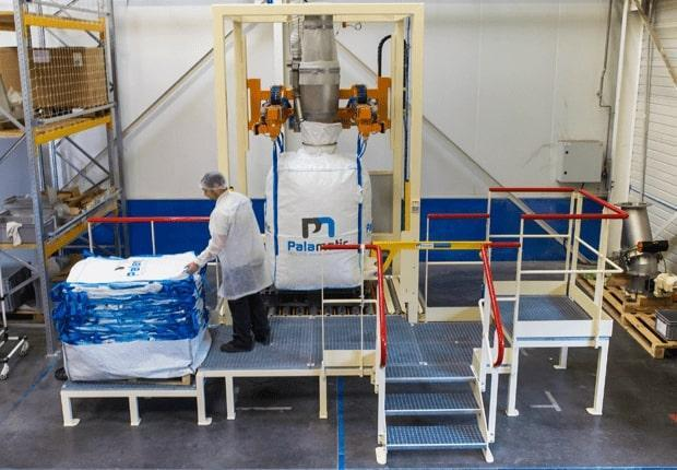 Big bag filling application Palamatic Process