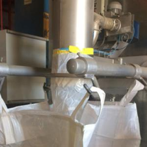 Corn big bag filling system - Bulk powder handling