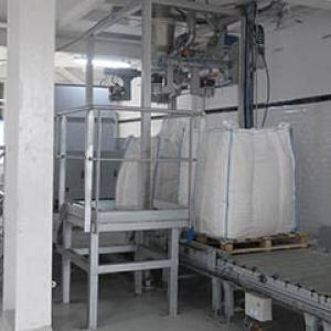 big bag filling line with cristal sugar