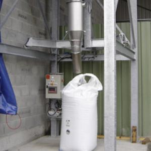 One loop big bag filling system - Fertilizer handling - Palamatic Process
