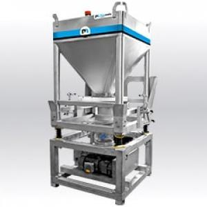 Container unloader IBCFlow01 Palamatic Process
