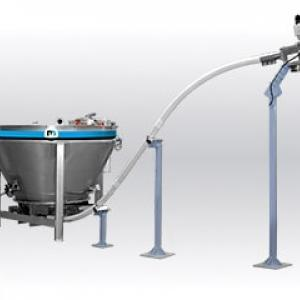 Flexible screw conveyor Palamatic Process