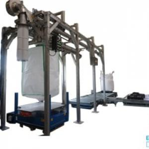 Big bag filling station Flowmatic 10 Easy Clean