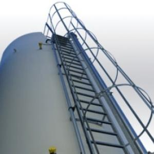 Industrial storage silo Palamatic Process