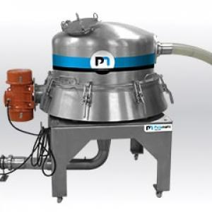 Industrial vibratory sieve on pneumatic conveying Palamatic Process
