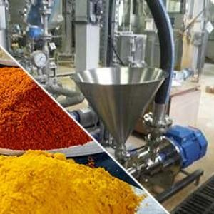 Powder inductor spices industry