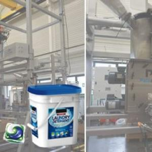 Incorporation of detergent products