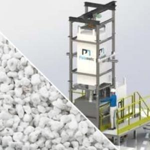 Perlite conveying