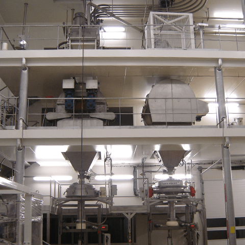 production line palamatic process