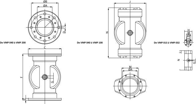 layout pinch valve Palamatic Process