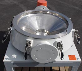 vibratory screener process line bulk handling