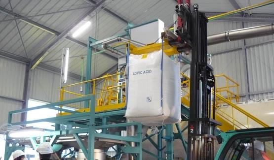 big bag discharging