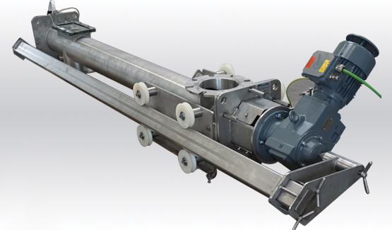 Easyclean screw conveyor